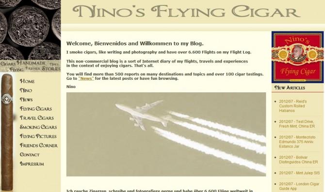 Blog de nino sobre vuelos y viajes y sobre todo sobre puros habanos