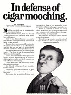 In defense of cigar mooching - En defensa de gorronear cigarros
